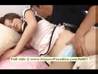 Mihiro Chinese model enjoys..