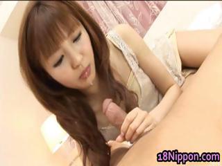 Hot japanese teen fucked part1