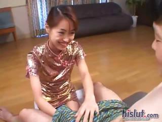 This Chinese slut wants cum