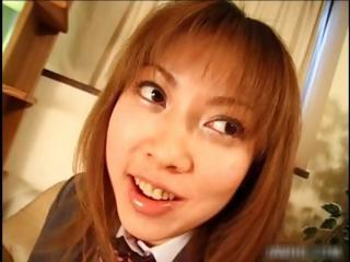 Cute asian schoolgirl..