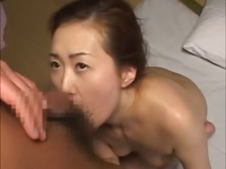 Mature japanese gets pussy..