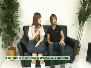Risa Tsukino on the level..