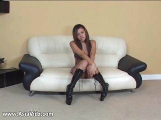 Busty Asian pornstar Annie..