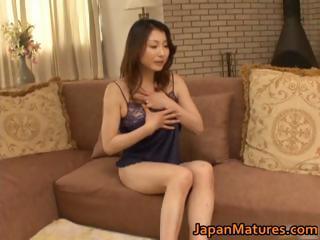 Sizzling japanese mature..