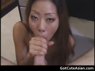 Ayako Delivers Hot Blowjob..