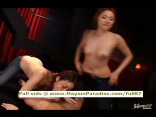 Japanese AV girls licking..