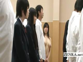 Invisible nudist Japan..