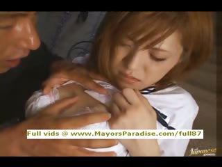 Azusa Itagaki innocent teen..