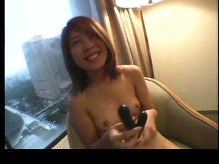 Cute asian redhead getting..