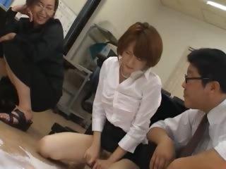 Asian secretary alien Tokyo..