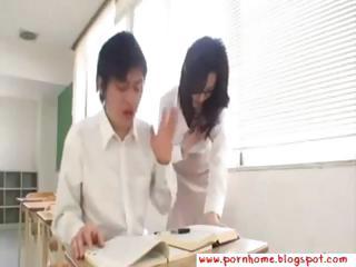 Hot Asian Teacher