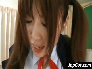 Young Japanese schoolgirl..