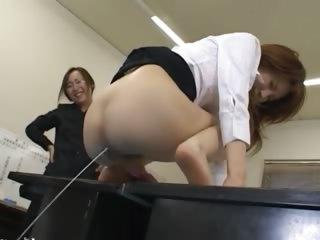 Asian secretary from asian..