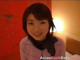 Innocent Shy Asian Swallow..