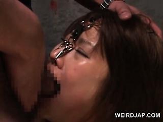 Asian naked sex slaved in..